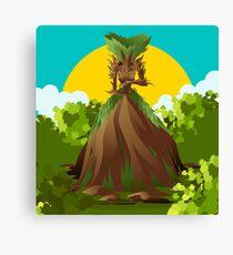 earth nature creature elemental Canvas Print