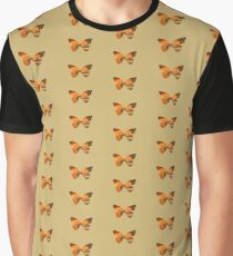 Abstract Butterfly Graphic T-Shirt