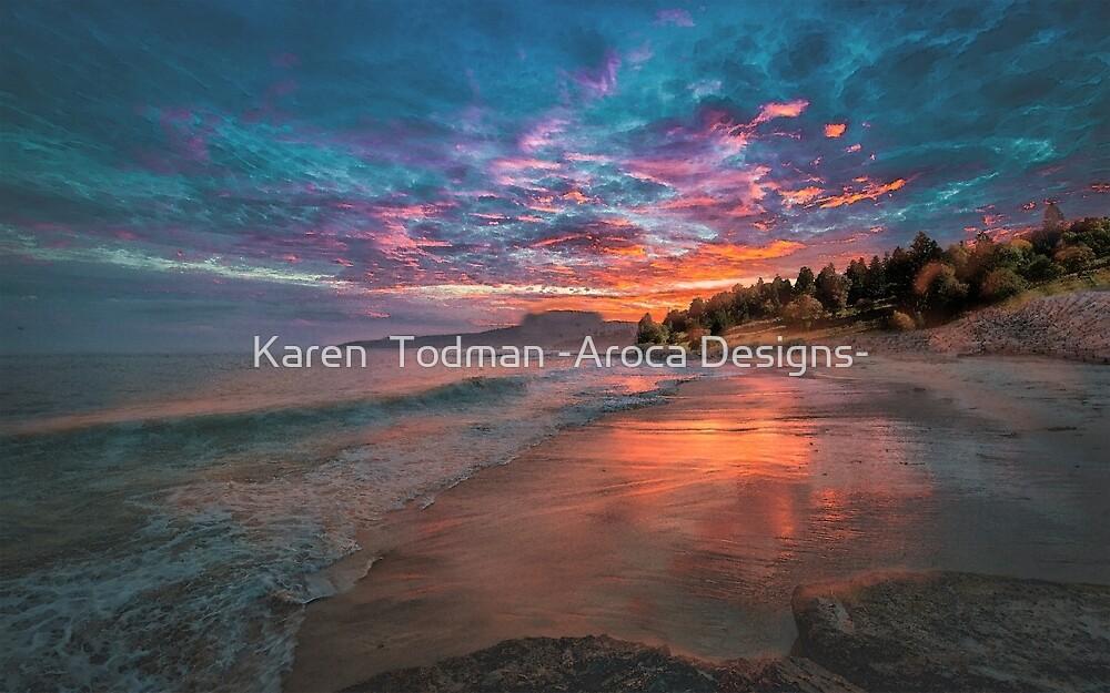A New Day Dawns by Karen  Todman -Aroca Designs-