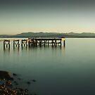 Hawkscraig Jetty - Aberdour, Fife by beakydave