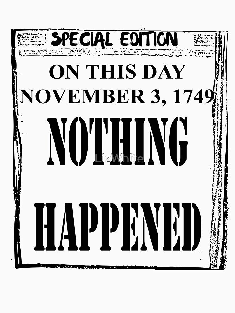 Nothing Happened News by LizWhite