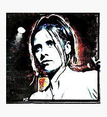 she saved the world, alot Photographic Print