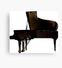 Keyboard instrument grand piano Canvas Print