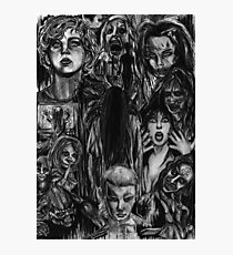 Ladies of Horror Photographic Print