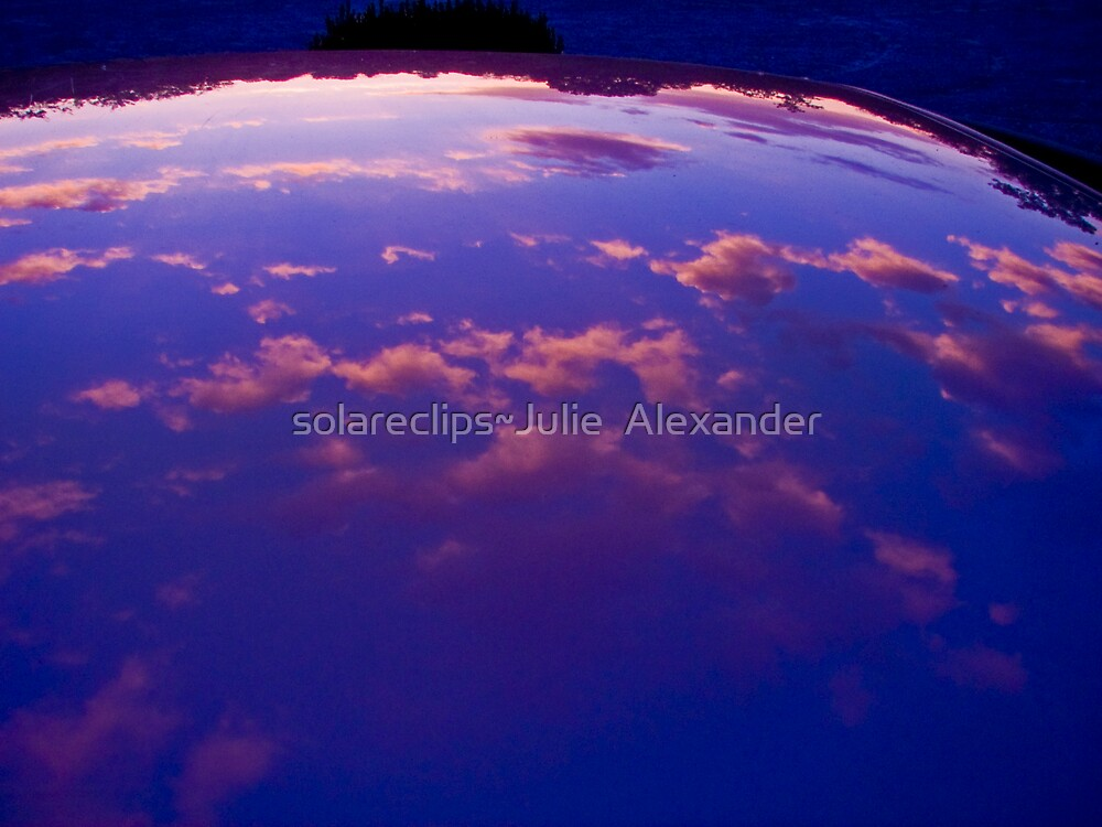 Sunset refection by solareclips~Julie  Alexander