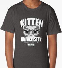 Kitten University - Grey 2 Long T-Shirt