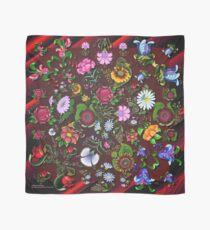 D1G1TAL-M00DZ ~ FOLKART ~ FLORAL ~ Kunterbunt Floral Medley by tasmanianartist Tuch