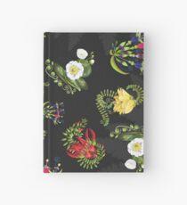 D1G1TAL-M00DZ ~ FOLKART ~ FLORAL ~ New Zealand Wild Flowers by tasmanianartist Notizbuch