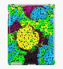 Pixelated Glitch (Yellow) iPad Case/Skin