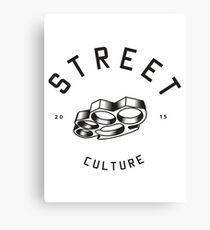 Street Culture Canvas Print