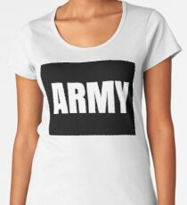Army Women's Premium T-Shirt