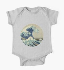 The Great Wave off Kanagawa One Piece - Short Sleeve