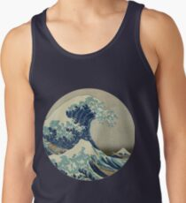 The Great Wave off Kanagawa Tank Top