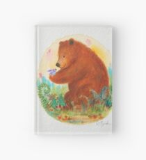 bear and bunny Hardcover Journal