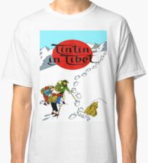 Tintin in tibet cover poster Classic T-Shirt