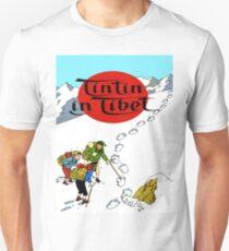 Tintin in tibet cover poster Unisex T-Shirt