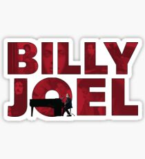 Billy Joel Sticker