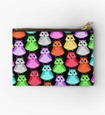 Rainbow owls Studio Pouch