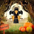 Crow n Pumpkin Patch by Penny Odom