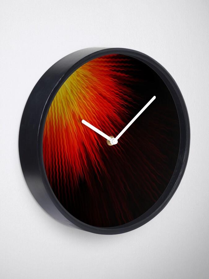 Alternate view of Fiery sun Clock