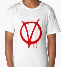 V for Vendetta Long T-Shirt