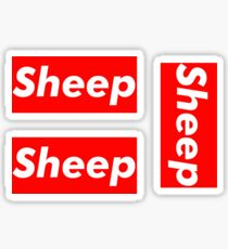 Sheep stickers 3 for 1 Sticker
