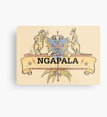 Ngapala Coat Of Arms Metal Print