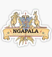 Ngapala Coat Of Arms Sticker