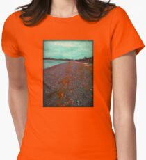 Seaside Serenity Women's Fitted T-Shirt