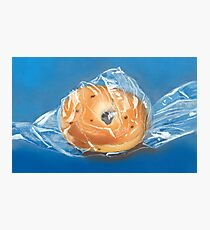bagged bagel Photographic Print
