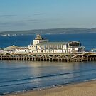 The pier at Bournemouth by alan tunnicliffe
