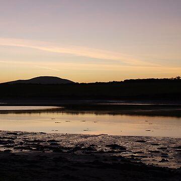 Ballycarbery Sunset by stormygt