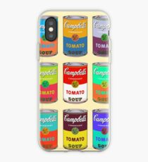 Andy Warhol Campbell's soup cans iPhone Case