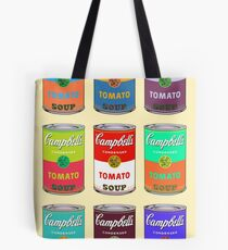 Andy Warhol Campbell's soup cans Tote Bag