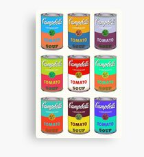 Andy Warhol Campbell's soup cans Canvas Print