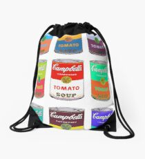 Andy Warhol Campbell's soup cans Drawstring Bag
