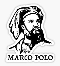 Marco Polo  Sticker