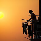 Laundry by Moshe Cohen