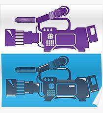 Video Camera Poster