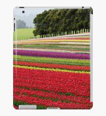 Field of Tulips, Wynyard, Tasmania iPad Case/Skin