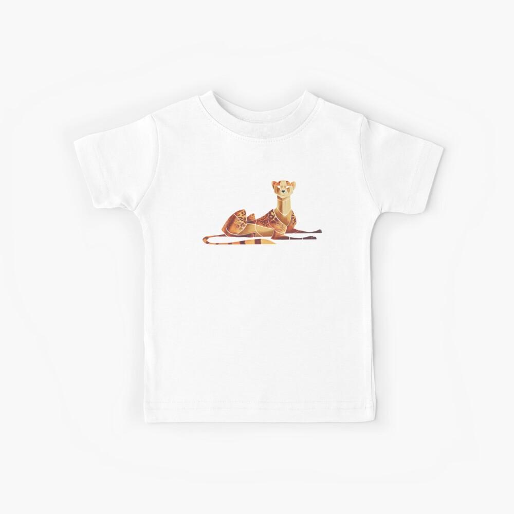 Gepard Kinder T-Shirt