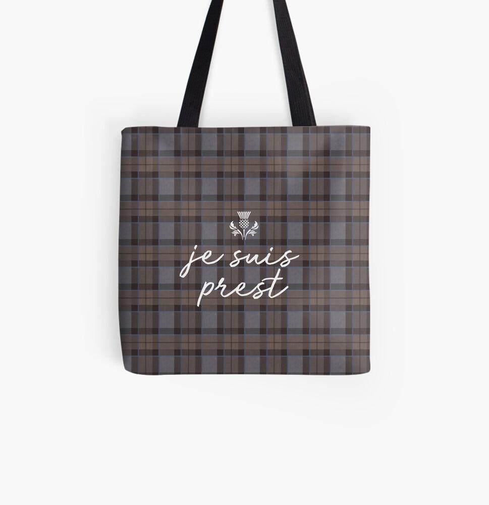 Je suis prest outlander All Over Print Tote Bag