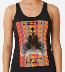 A Trek to Discover DISCO Racerback Tank Top