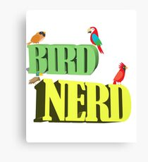 Birder Twitcher Funny Design - Bird Nerd Canvas Print
