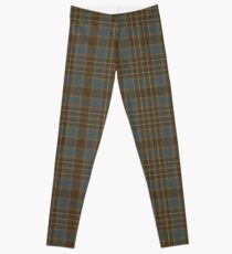 tartan fraser outlander Leggings