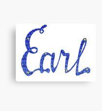 Earl Canvas Print