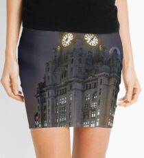 Liver Building and guard Mini Skirt