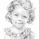 granddaughter drawing by Mike Theuer