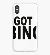 I Got Bingo iPhone Case/Skin