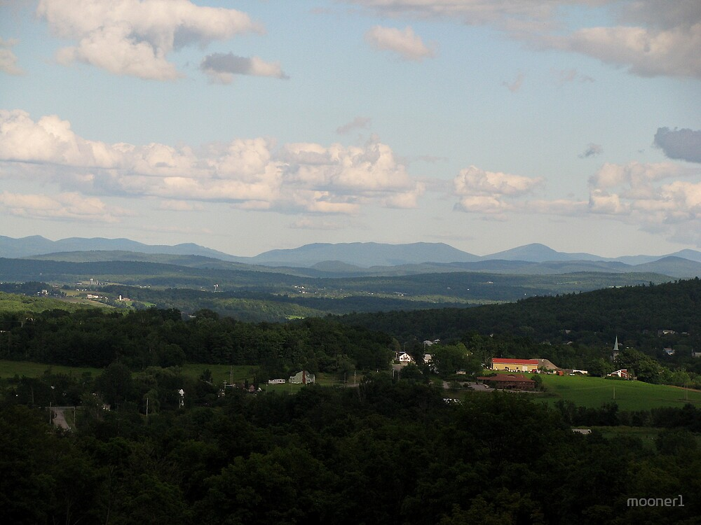 Green Mtns, Vermont, USA by mooner1